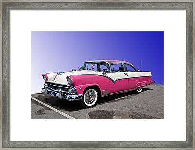 1955 Ford Crown Victoria Framed Print by Gianfranco Weiss