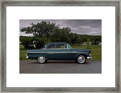1955 Ford Customline Framed Print by Tim McCullough