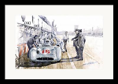 Stirling Moss Framed Prints