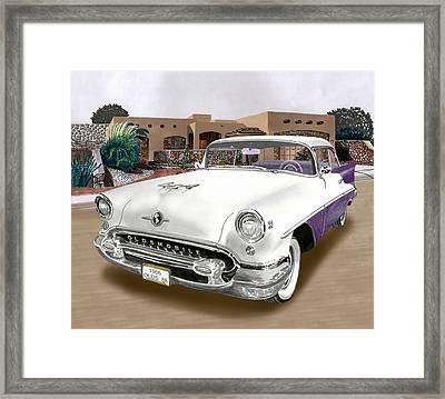 1955 Oldsmobile Super 88 Framed Print