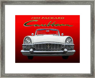 1955 Packard Caribbean Convertible Framed Print by Jack Pumphrey