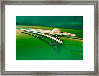 1955 Packard Clipper Hood Ornament 3 Framed Print by Jill Reger