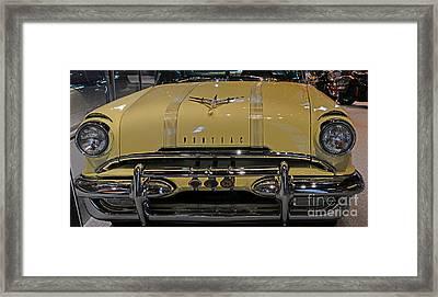 1955 Pontiac Chieftain Front Framed Print by Paul Ward
