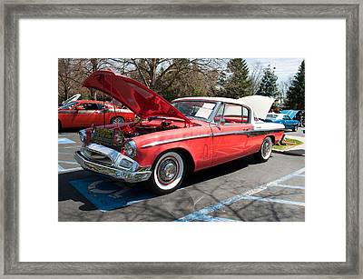 1955 Studebaker Framed Print