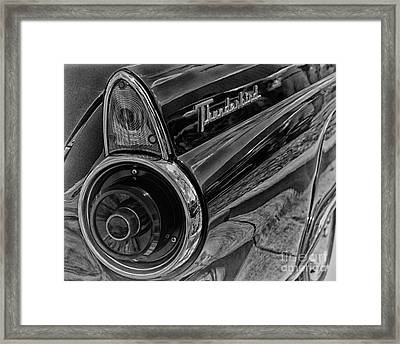 1955 Thunderbird Framed Print by JRP Photography