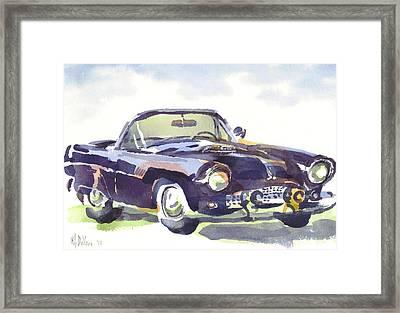 1955 Thunderbird Framed Print