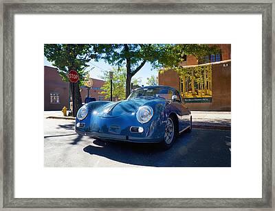 1956 356 A Sunroof Coupe Porsche Framed Print