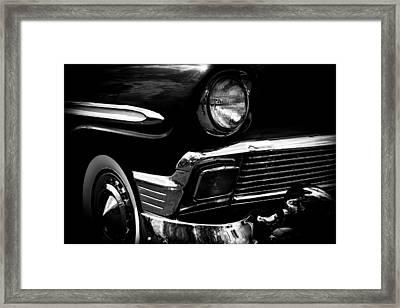 1956 Chevrolet Bel Air Framed Print by David Patterson