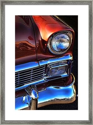 1956 Chevrolet Bel Air Framed Print by Gordon Dean II