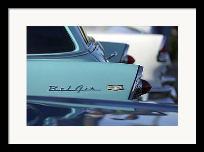 1956 Chevrolet Belair Nomad Framed Prints