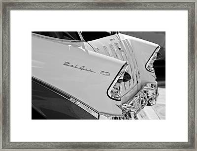 1956 Chevrolet Belair Nomad Rear End Taillights Framed Print by Jill Reger