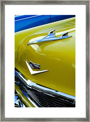 1956 Chevrolet Hood Ornament 3 Framed Print