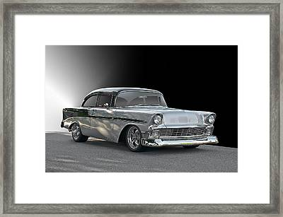 1956 Chevrolet 'post' Coupe Framed Print by Dave Koontz