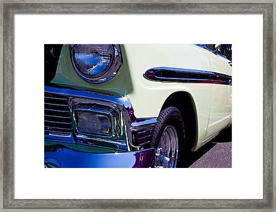 1956 Chevy Bel Air Custom Hot Rod Framed Print by David Patterson