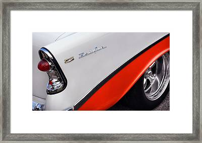 1956 Chevy Bel Air Framed Print by Gordon Dean II
