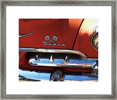 1956 Dodge 500 Series Photo 2b Framed Print