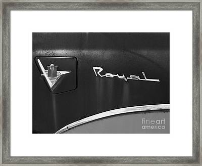 1956 Dodge 500 Series Photo 3 Framed Print
