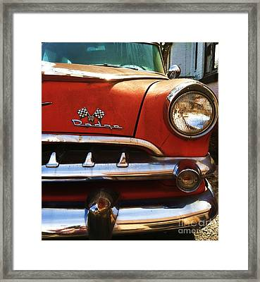 1956 Dodge 500 Series Photo 5b Framed Print