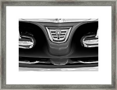 1956 Dodge Royal Lancer Grille Emblem Framed Print
