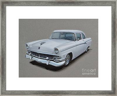 1956 Ford Customline Framed Print