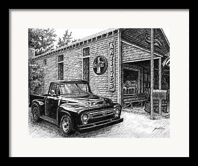 Serenite Maison Framed Prints