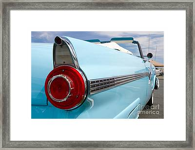 1956 Ford Fairlane Sunliner Framed Print