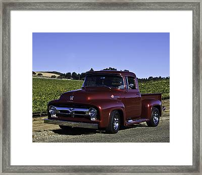 1956 Ford Pickup Framed Print by Patricia Stalter