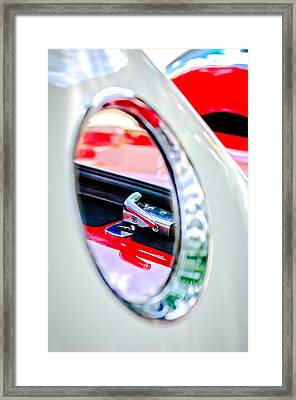 1956 Ford Thunderbird Latch -417c Framed Print by Jill Reger