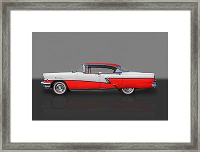 1956 Mercury Montclair Phaeton Framed Print by Frank J Benz