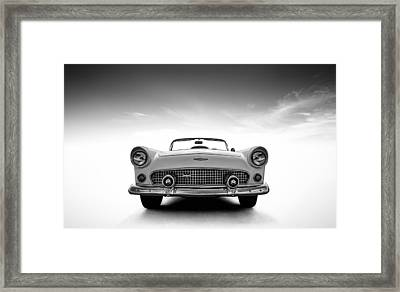 1956 Thunderbird Framed Print by Douglas Pittman