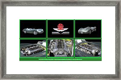 1957 Aston Martin D B R 2    Framed Print by Jack Pumphrey