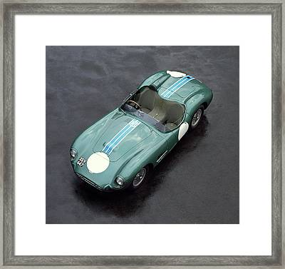 1957 Aston Martin Dbr2 4.2 Litre Sports Framed Print