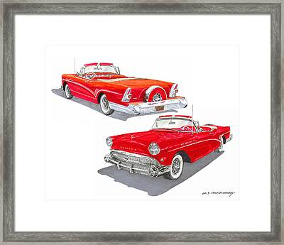 1957 Buick Special Convertible  Framed Print