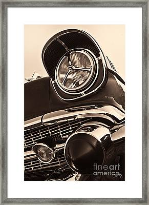 1957 Chevy Details Framed Print