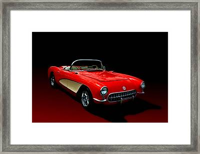 1957 Corvette Framed Print