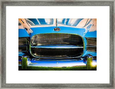 1957 Dual Ghia Sport Grille Framed Print