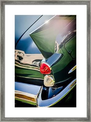 1957 Dual Ghia Sport Taillight Framed Print