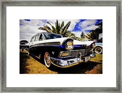 1957 Ford Custom Framed Print