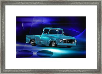 1957 Ford F100 Pick Up Framed Print by Dave Koontz