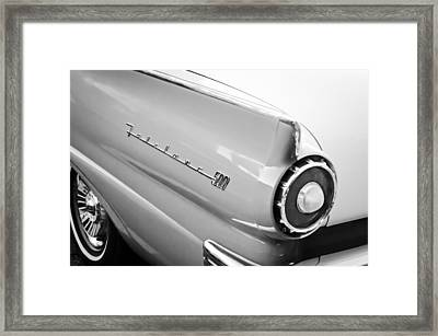 1957 Ford Fairlane 500 Taillight Emblem Framed Print