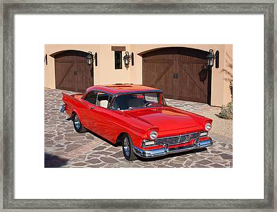 1957 Ford Fairlane Framed Print