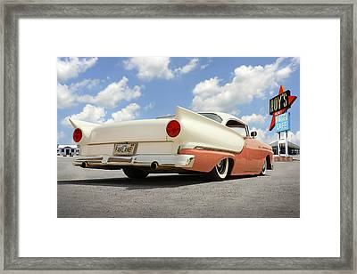 1957 Ford Fairlane Lowrider 2 Framed Print by Mike McGlothlen