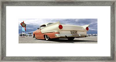 1957 Ford Fairlane Lowrider Framed Print by Mike McGlothlen