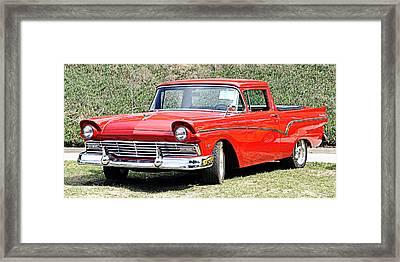 1957 Ford Ranchero Framed Print