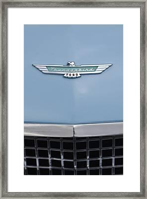 1957 Ford Thunderbird Hood Ornament 2 Framed Print by Jill Reger