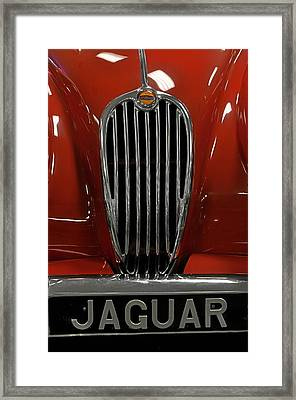 1957 Jaguar Xk 140 Mc Framed Print by Keith Gondron