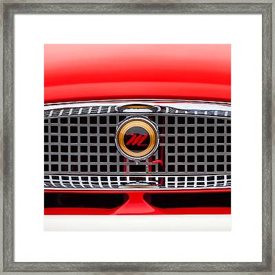 1957 Metropolitan Framed Print by Carol Leigh