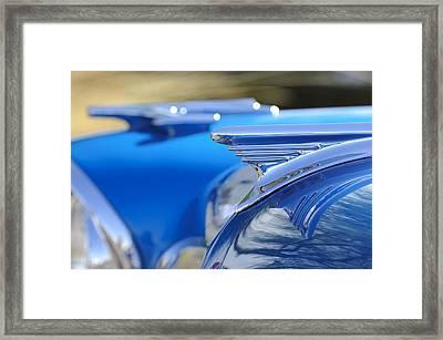 1957 Oldsmobile Hood Ornament 3 Framed Print by Jill Reger