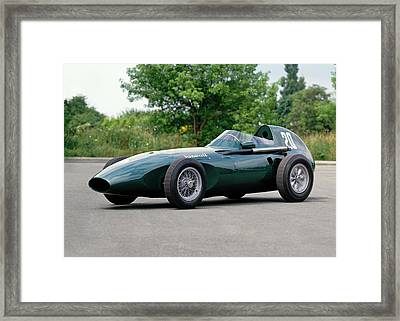 1957 Vanwall Formula One Vw10 Single Framed Print