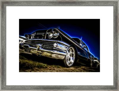 1958 Buick Century Framed Print by motography aka Phil Clark